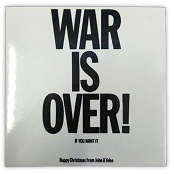 John Lennon War Is Over Magnet