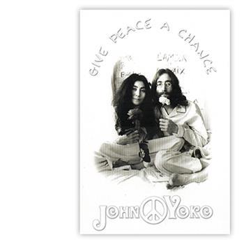 Buy Give Peace A Chance (Postcard) by JOHN LENNON