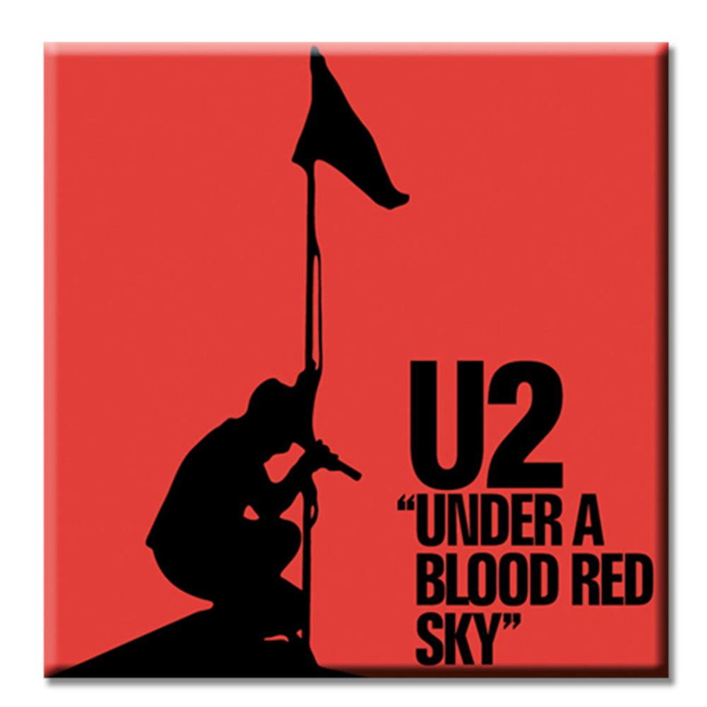 Under A Blood Red Sky Magnet