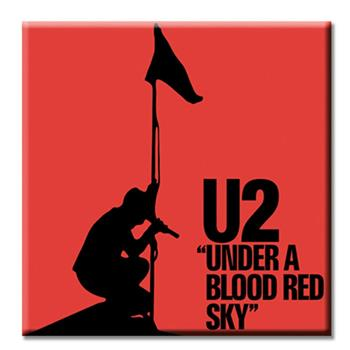 U2 Under A Blood Red Sky Magnet