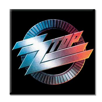 ZZ Top Circle Logo Magnet