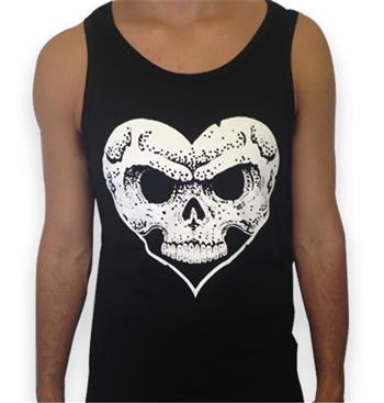Buy Heart & Skull Logo (Tank Top) by Alexisonfire