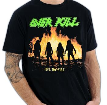 Buy Feel The Fire T-Shirt by Overkill