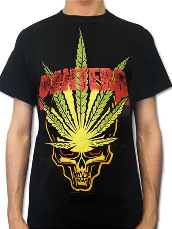Buy Cannabis Skull T-Shirt by Pantera