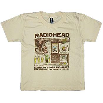 Buy Evrybody Stops Toddler Tee by RADIOHEAD