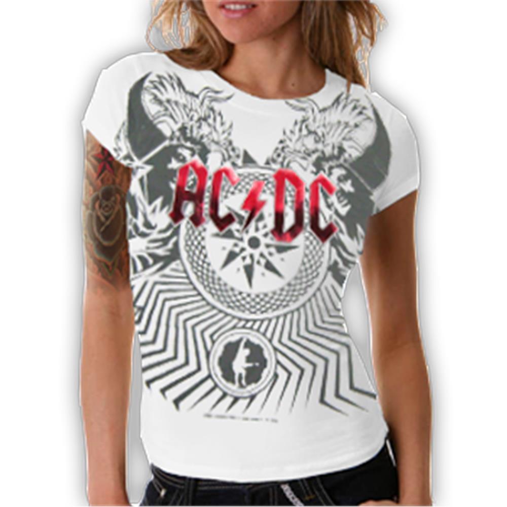 Allover White Black Ice T-Shirt