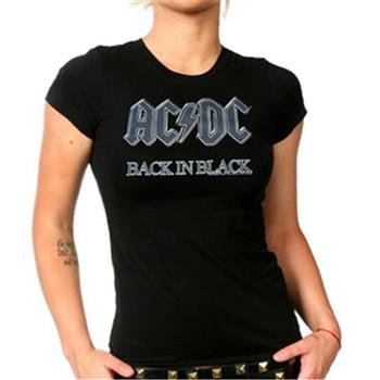 Buy Back In Black Gray Logo by AC/DC