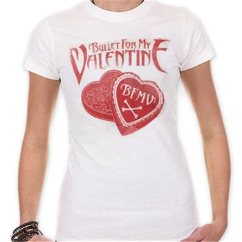 Buy Heart Bullet Box T-Shirt by Bullet For My Valentine