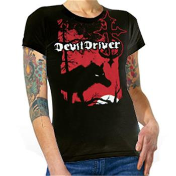Buy Wolf T-Shirt by Devildriver