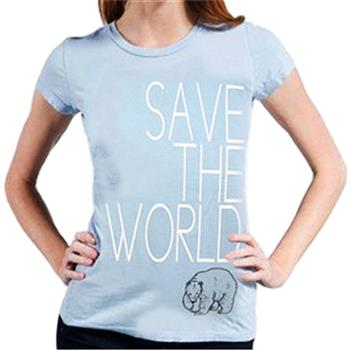 Ecological Save The World T-Shirt