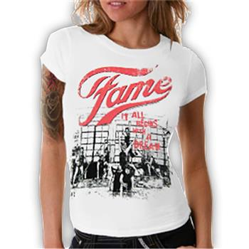Buy Dance Scene White T-Shirt by Fame
