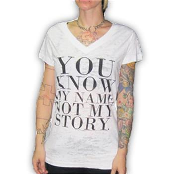 Generic Not My Story Burnout T-Shirt