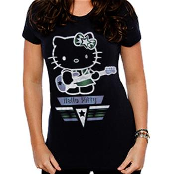 Buy VH Guitar T-Shirt by Hello Kitty