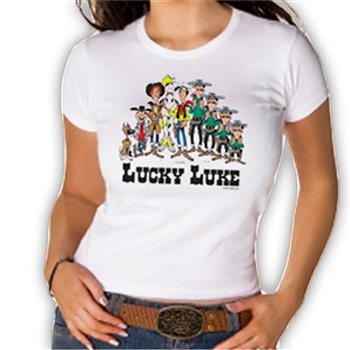 Lucky Luke Group Portrait T-Shirt
