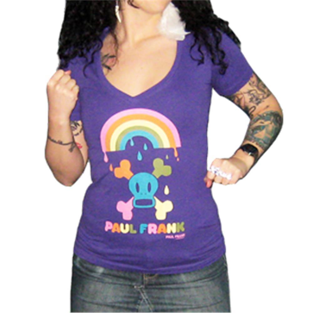 Skurvy Rainbow V-Neck Shirt