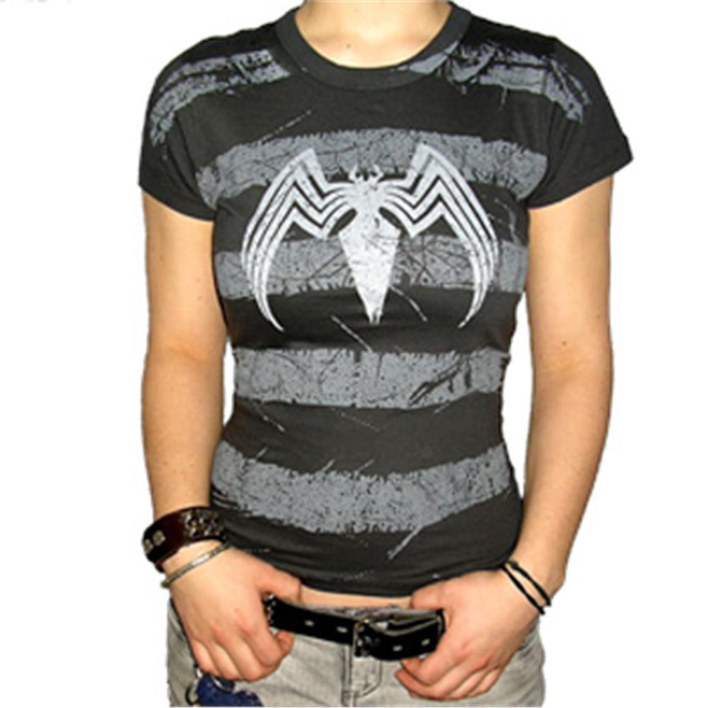 Logo On Stripes T-Shirt