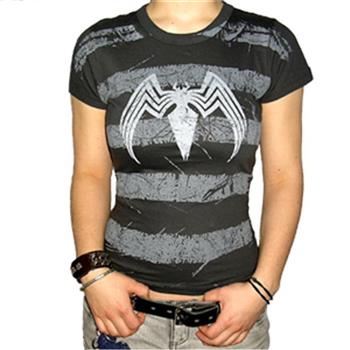 Buy Logo On Stripes T-Shirt by Spider-man