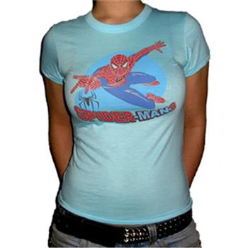Buy Flying Blue Circle T-Shirt by Spider-man