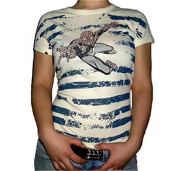 Buy Flying Blue Stripes T-Shirt by Spider-man