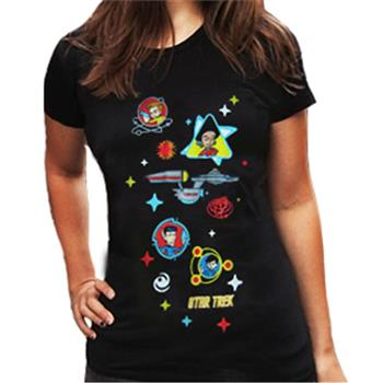 Buy Cartoon In Space T-Shirt by Star Trek