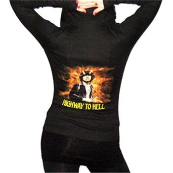 Buy Girl Zip Hoodie - Highway To Hell by AC/DC