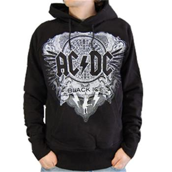 Buy Black Ice Allover Hoodie by AC/DC