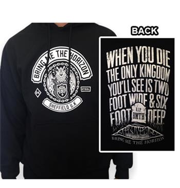 Buy Sheffield UK Hoodie by Bring Me The Horizon