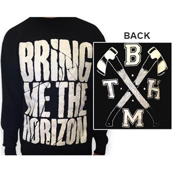 Buy Crossed Axes (Crewneck) by Bring Me the Horizon