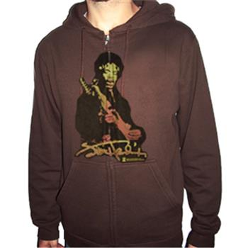 Buy Sunset Blend Zip Hoodie by Jimi Hendrix