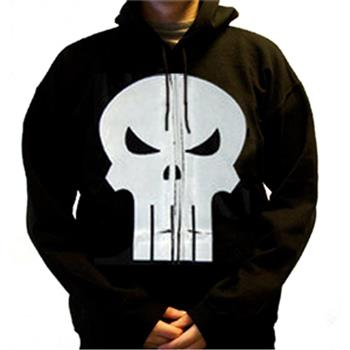 Buy Skull Zip Black by PUNISHER (the)