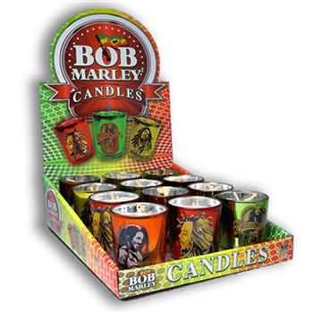 Buy 12 Votive Candles Display by BOB MARLEY