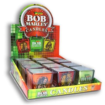 Buy 12 Square Holders With T-light Candle Display by BOB MARLEY