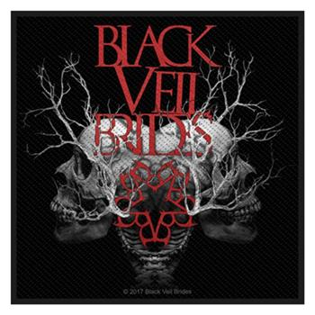 Black Veil Brides Skull Branches Patch