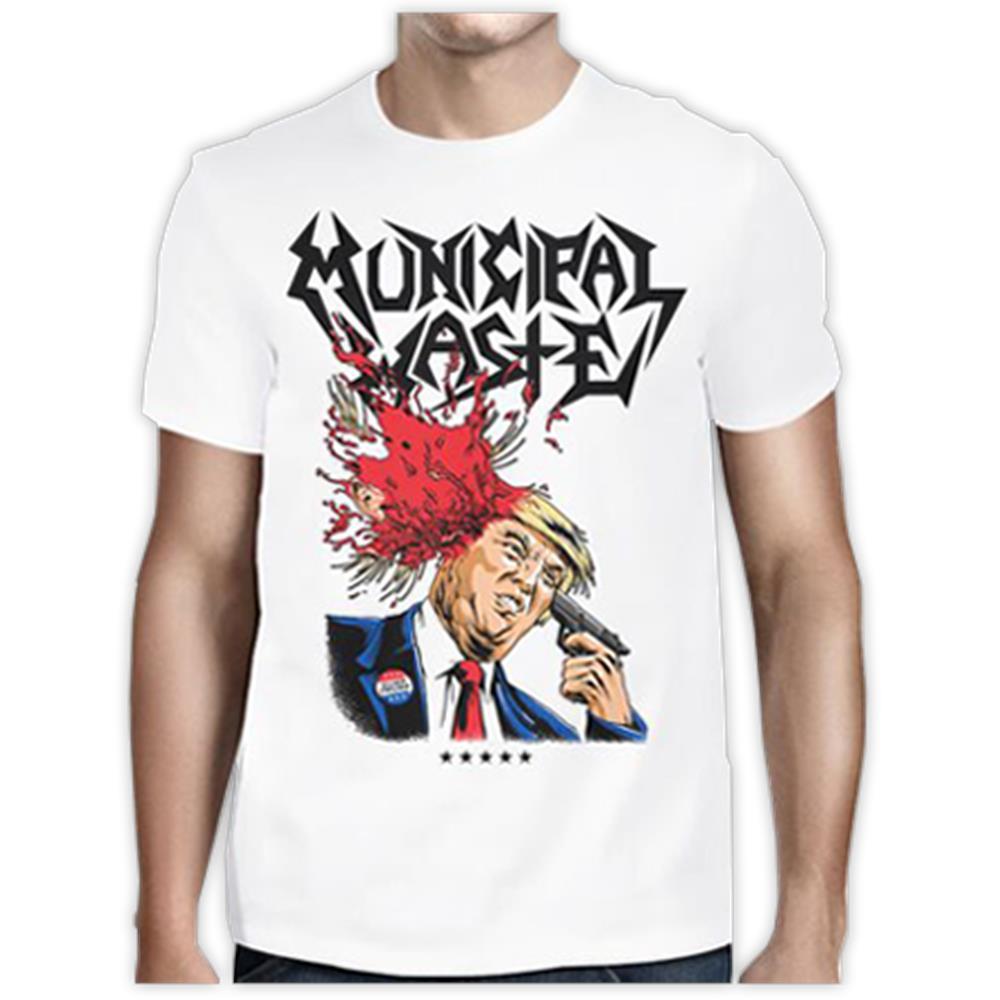 (White) Trump Walls Of Death T-Shirt