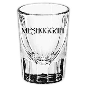 Buy Black Logo Shot Glass by Meshuggah