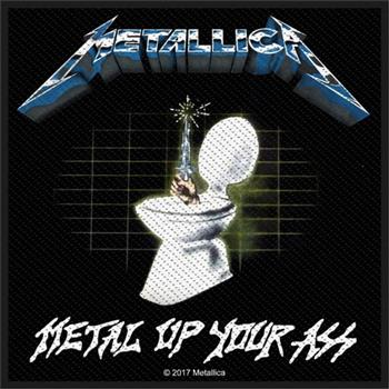 Buy Metal Up Your Ass Patch by Metallica
