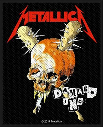 Buy Damage Inc. Patch by Metallica