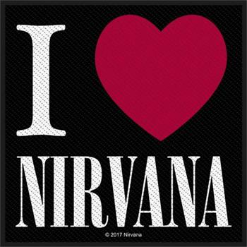 Buy I Love Nirvana Patch by Nirvana