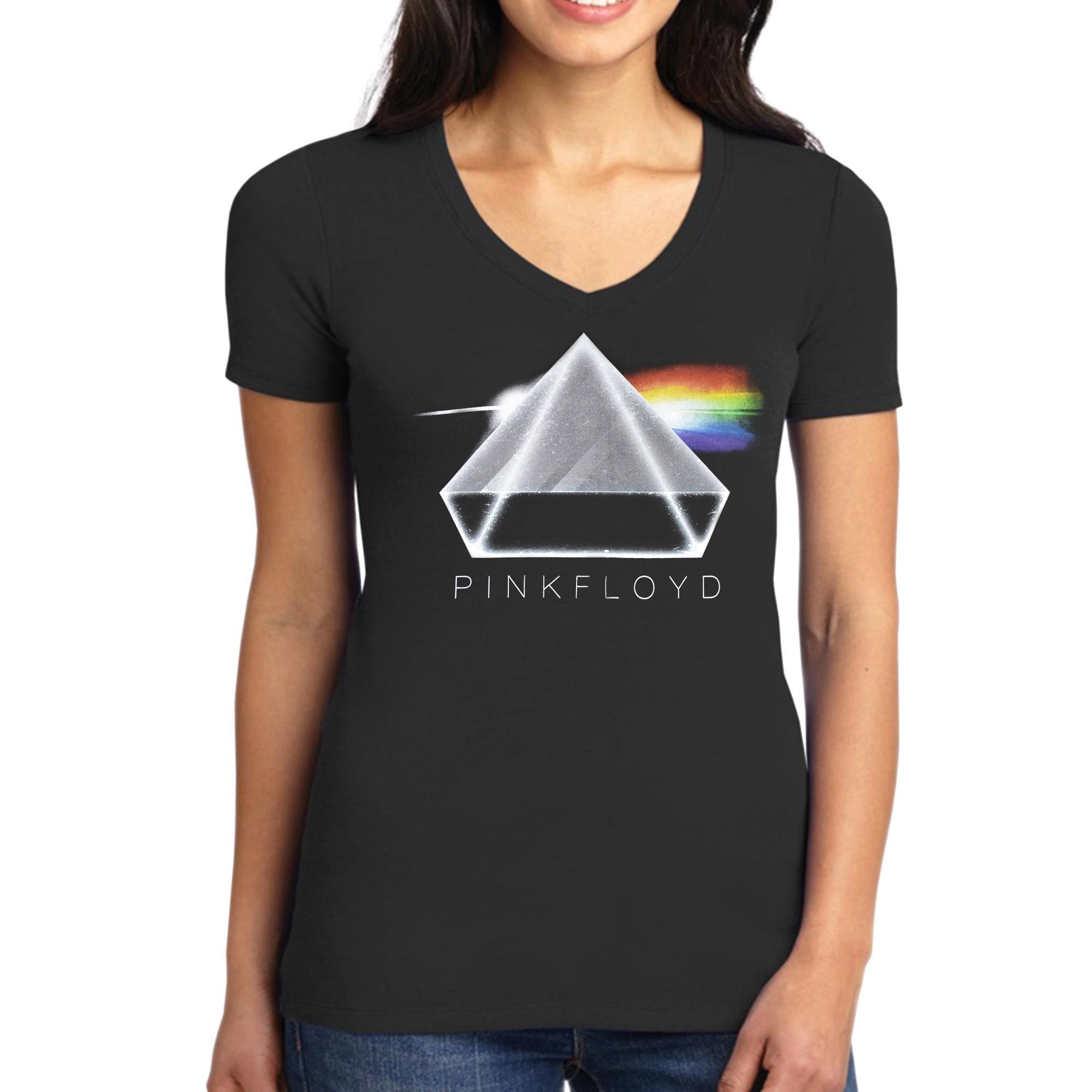 3D Prism V-Neck Shirt