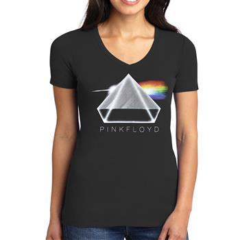 Pink Floyd 3D Prism V-Neck Shirt
