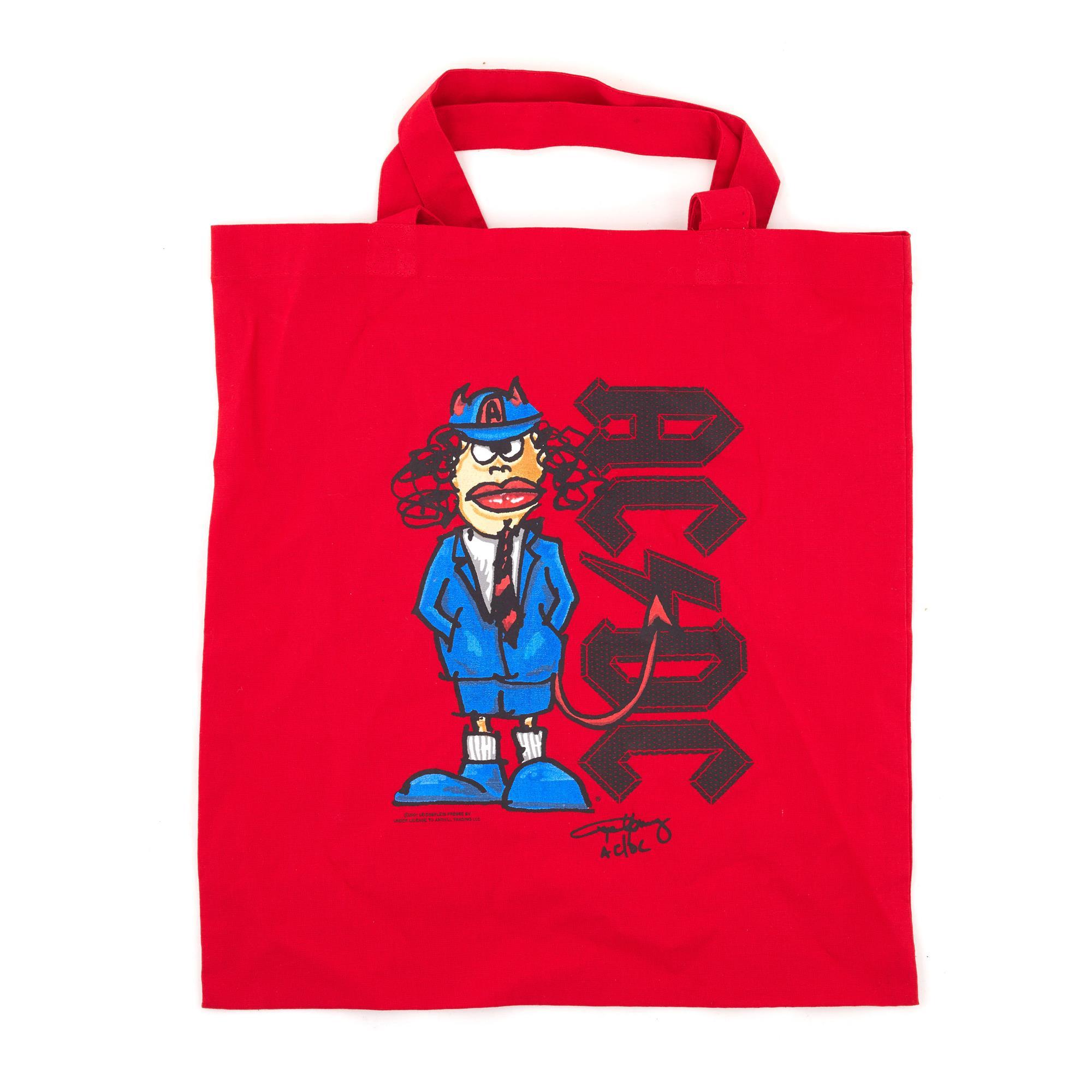 Red Angus Tote Bag