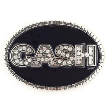 Johnny Cash Logo Buckle