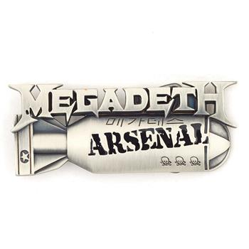 Buy Arsenal Buckle by Megadeth