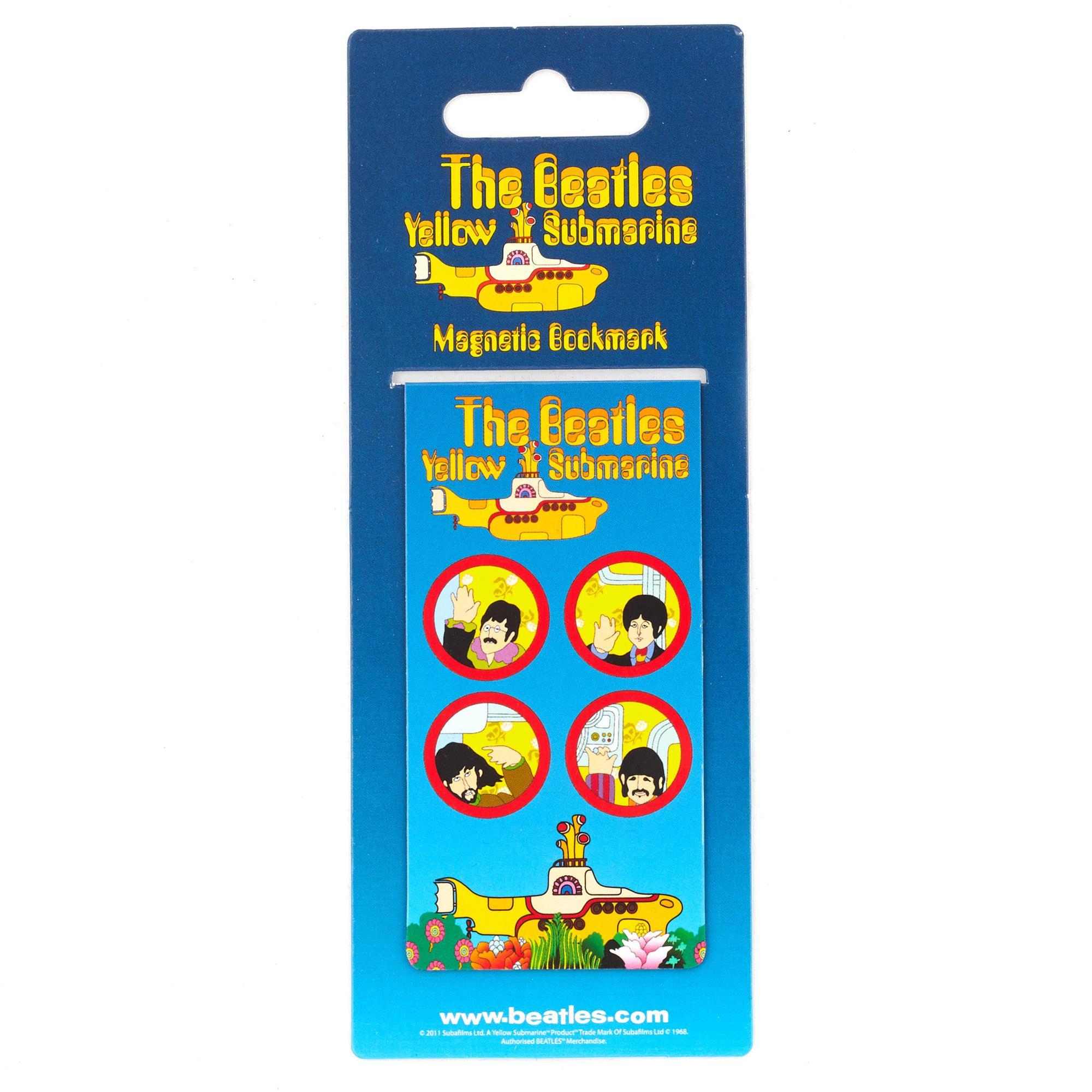 Yellow Submarine Bookmark Magnet