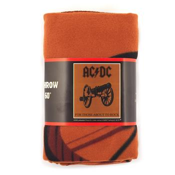 AC/DC Fleece Blanket