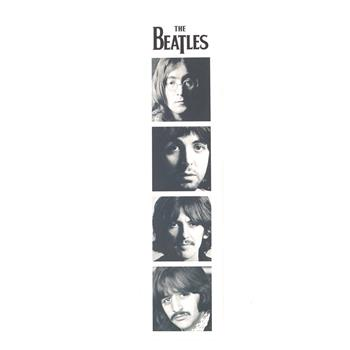 Beatles Faces Bookmark