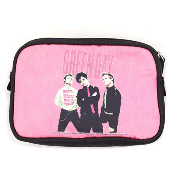 Green Day Cosmetic Bag - Band Pink Name