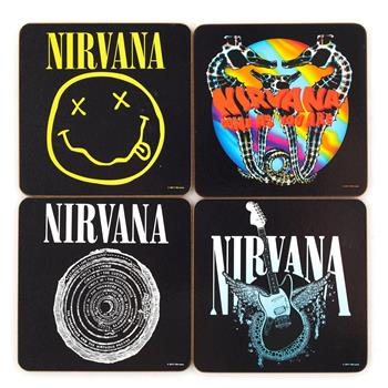 Buy 4 Pcs Coaster Set With Steel Box by Nirvana