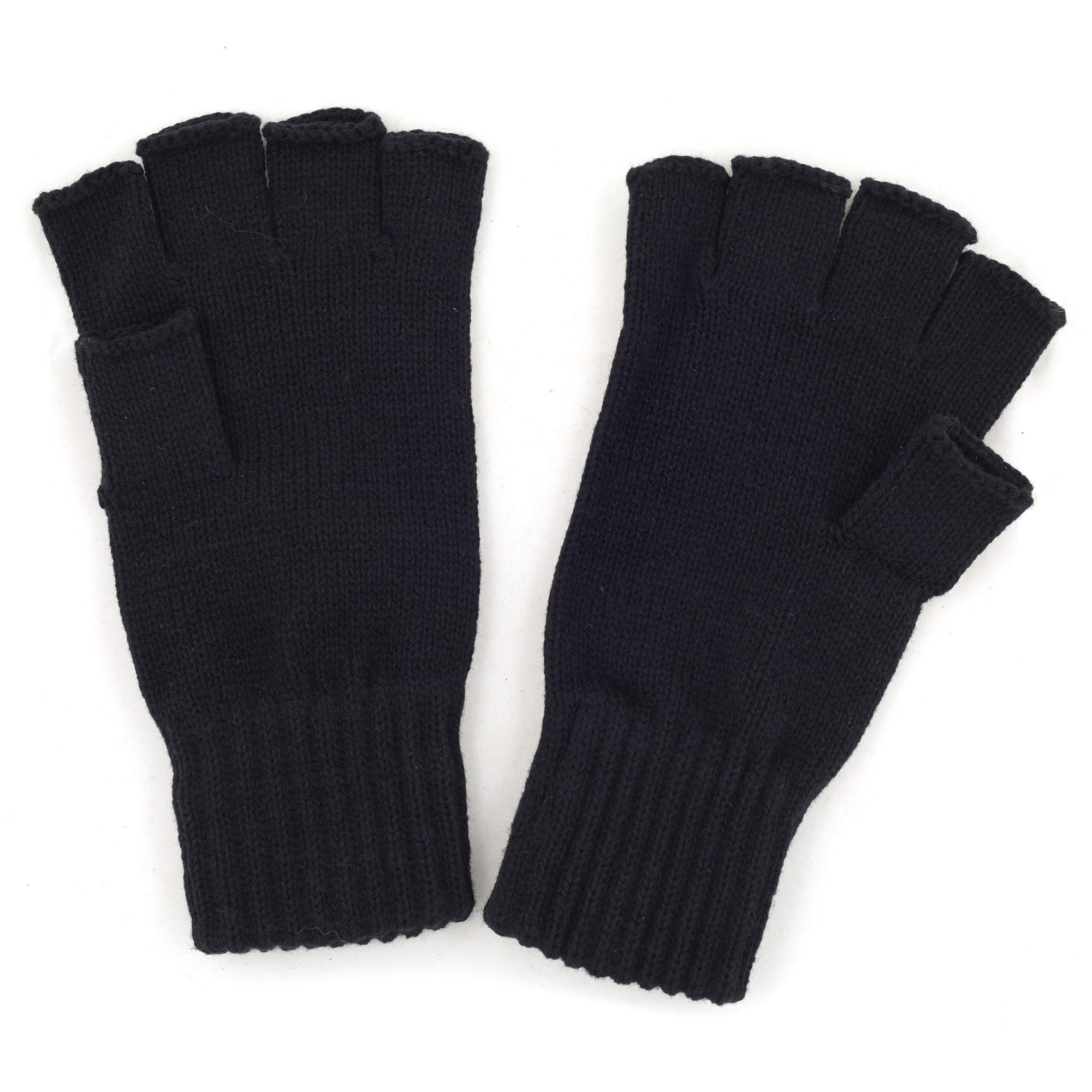 Fingerless Gloves - Gray Bolts