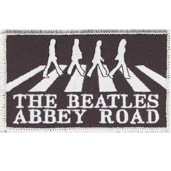 Beatles Abbey Road White Border Patch